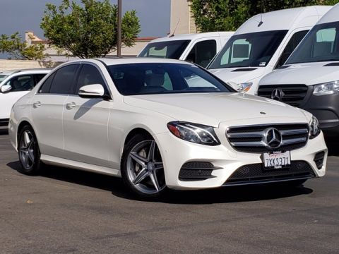 Certified Pre-Owned 2017 Mercedes-Benz E-Class E 300 RWD 4dr Car