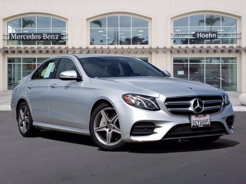 Certified Pre-Owned 2019 Mercedes-Benz E-Class E 300 RWD 4dr Car